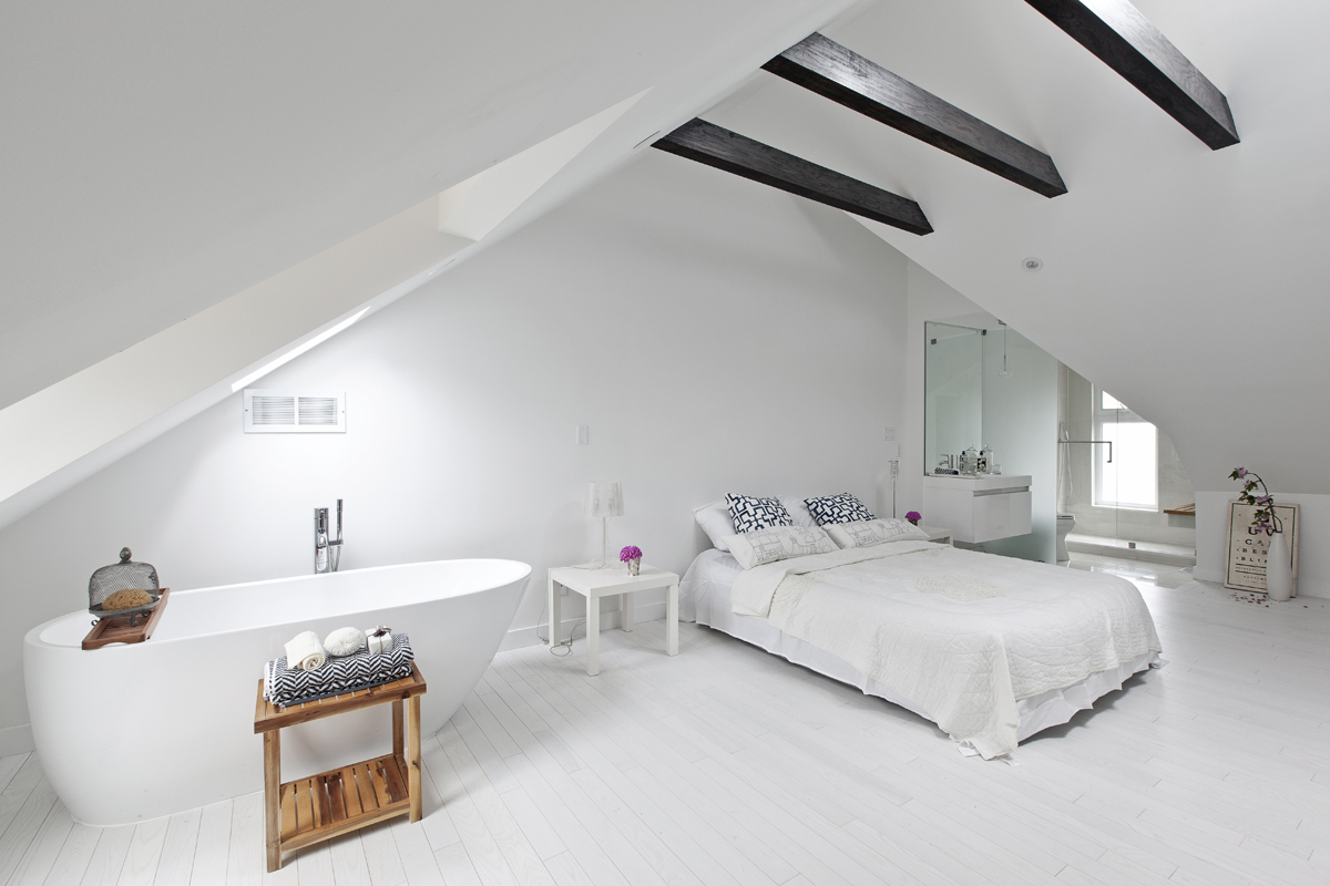 Lady peel house rzlbd archinect Master bedroom open ceiling