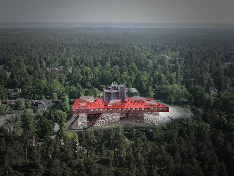 Aerial view (Image: PRAUD)
