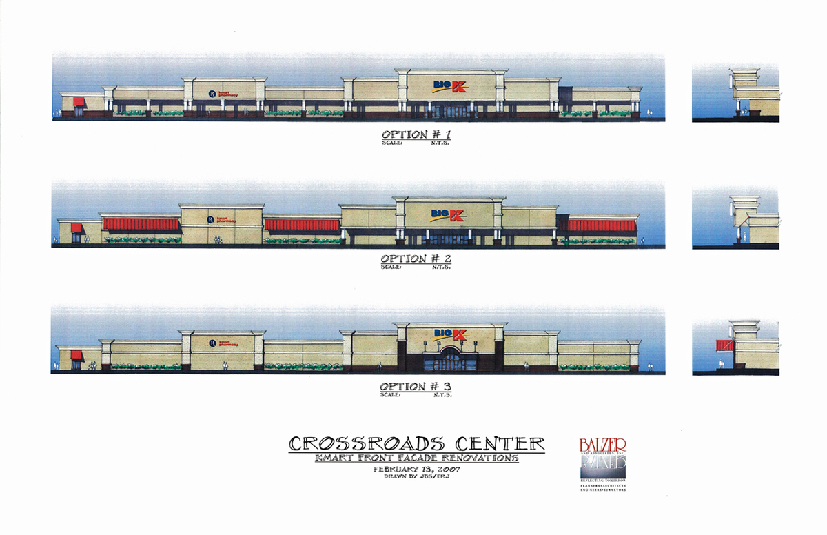 Crossroads Center - Elevation Studies