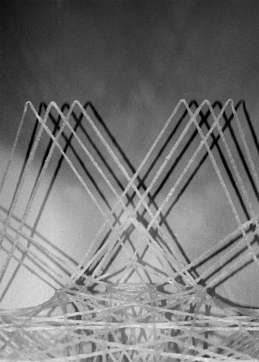 Fiberglass Rope Chair by Joseph Piorkowski