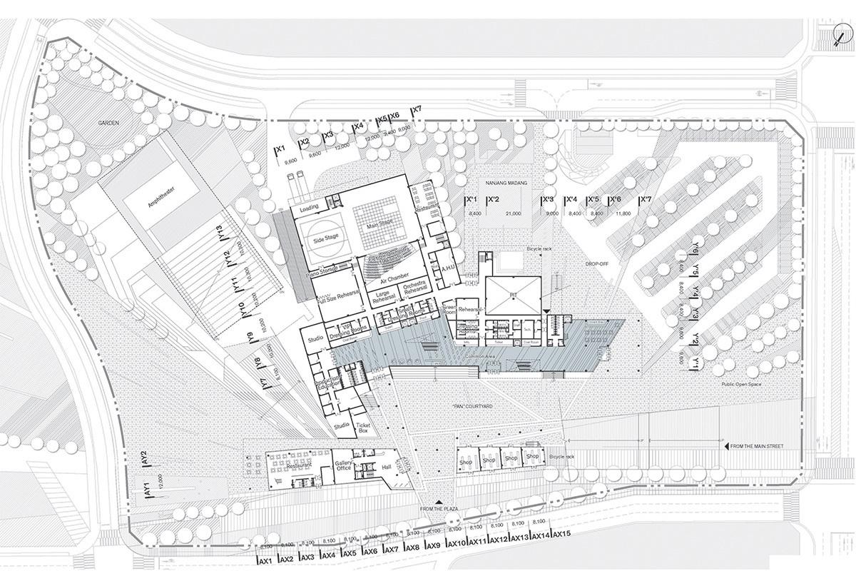1st floor plan (Image: H Architecture & Haeahn Architecture)