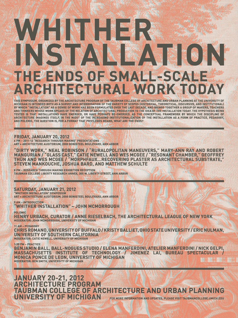 Whither Symposium flyer
