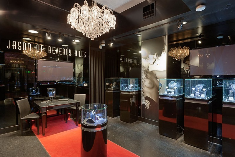 Jason 39 s of beverly hills daryl walter archinect for Jewelry jobs las vegas