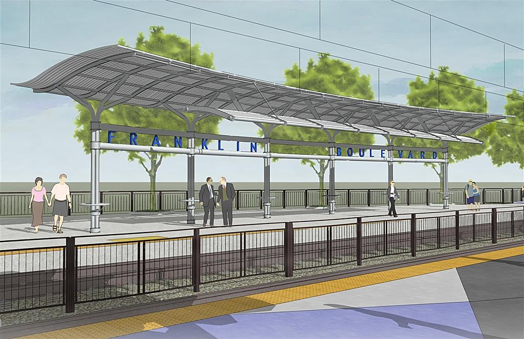 South sacramento light rail corridor phase 2 3 stations for Architecture firms sacramento