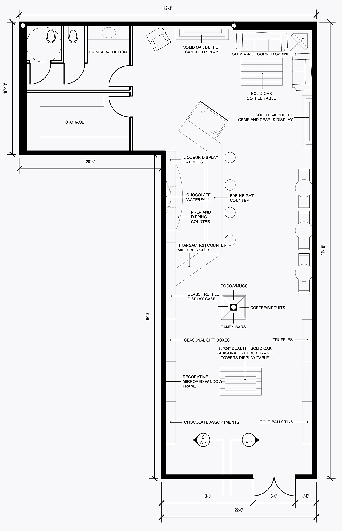 Retail store layout best layout room for Shop floor plans