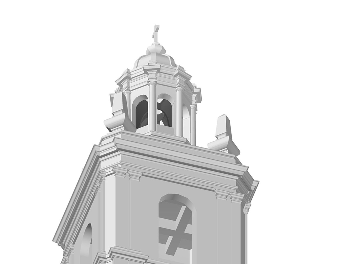 San Roque Chapel Tower - Seismic Renovation (Image: N. Stanton)