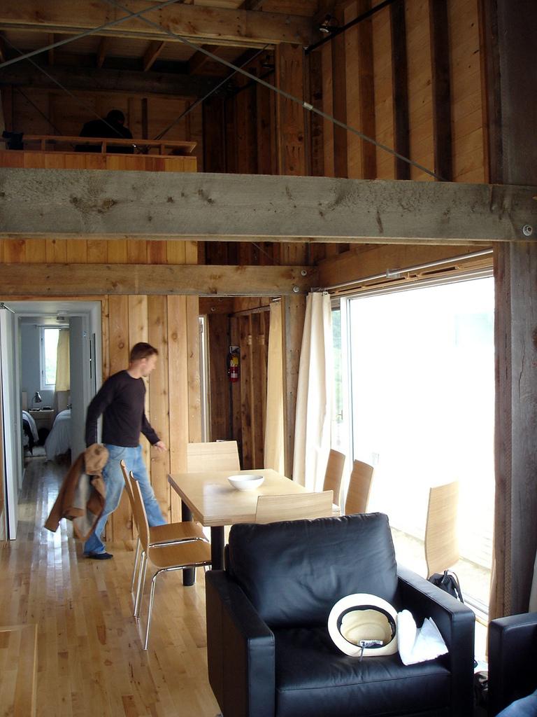 mosher cottage living room