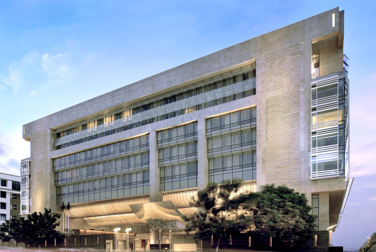 park hyatt hyderabad john portman associates archinect