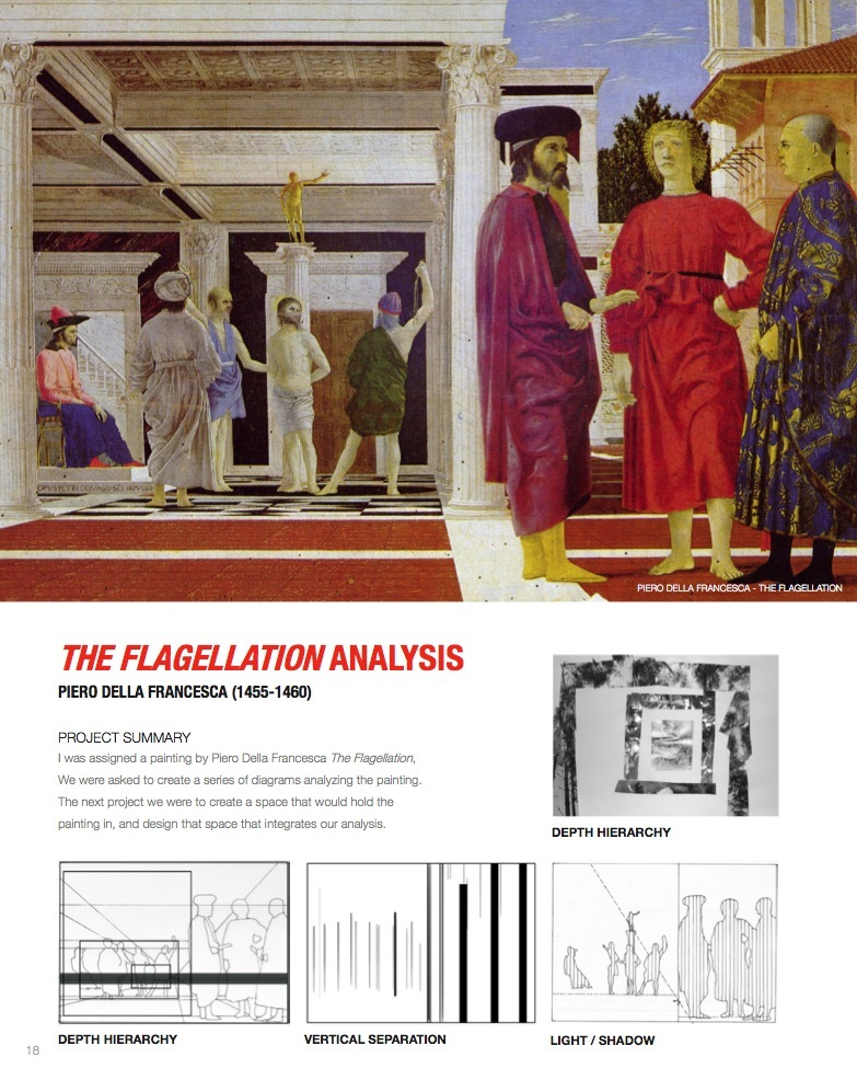 The Flagellation Analysis