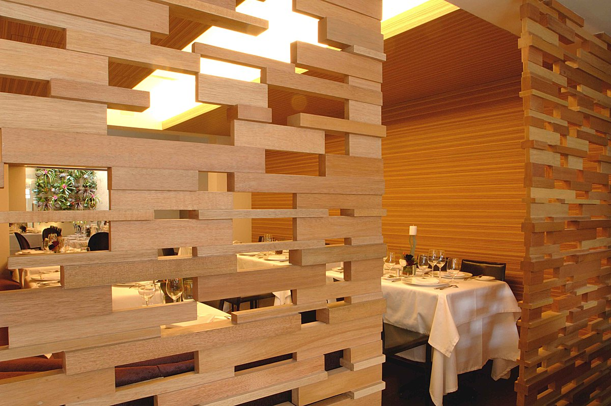 Jaso restaurant serrano monjaraz arquitectos archinect for Restaurante madera