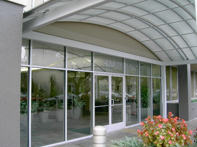 AFTER - Storefront Entrance and Canopy