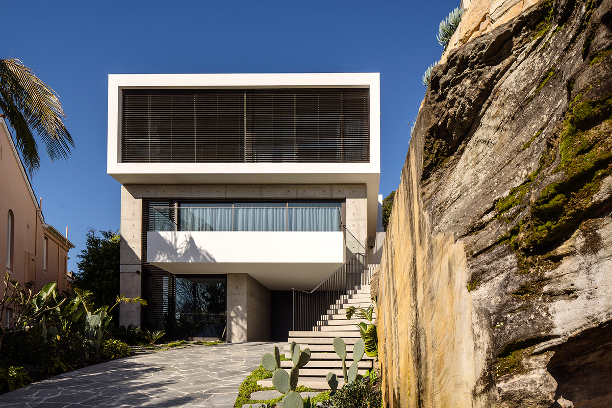 Vaucluse residence x horizon archinect for Jackie o house vaucluse