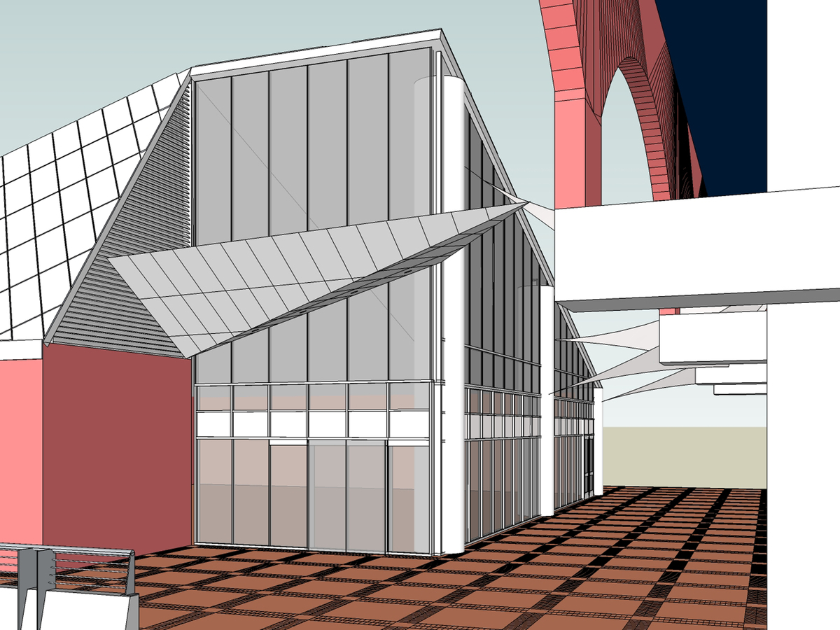 1st. design (NE view) 1 of 3