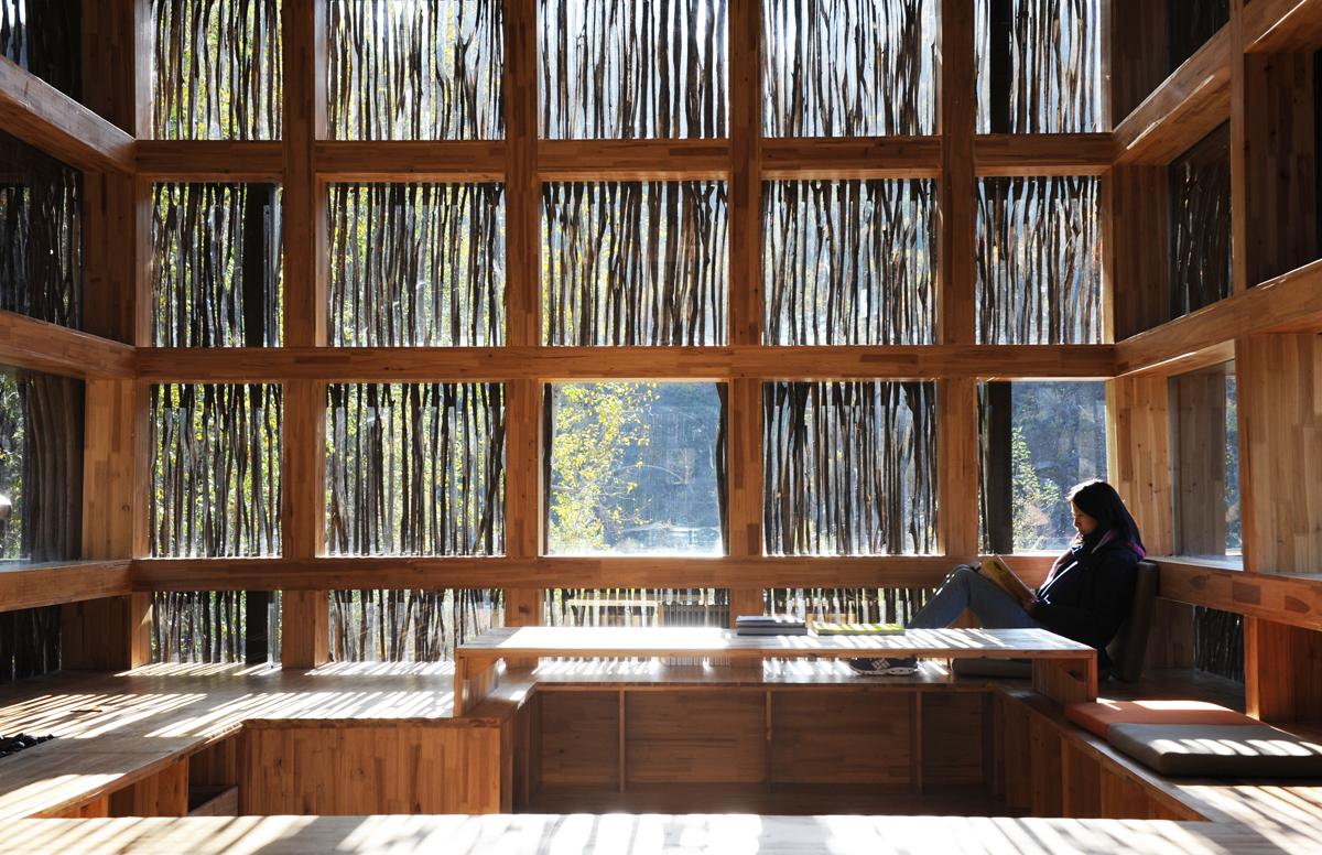 Liyuan Library by EPMA program director prof. Li Xiaodong