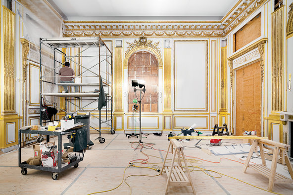 One Of The Finest Examples Of French Neoclassical Interior