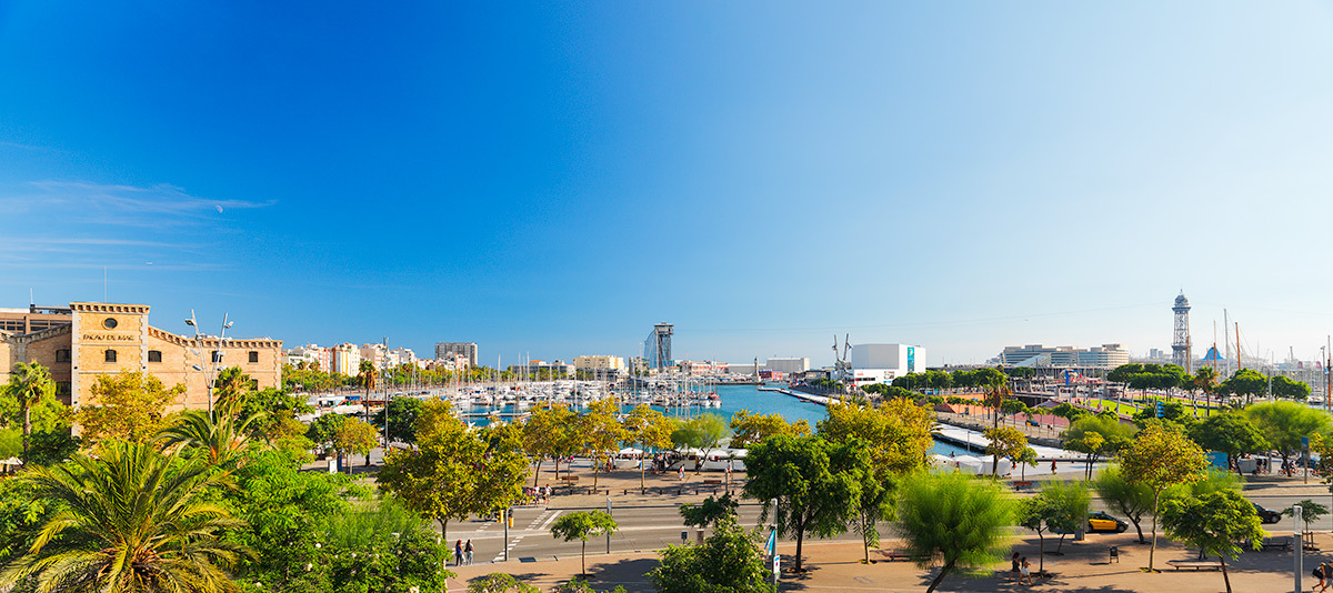 Harbour of Barcelona