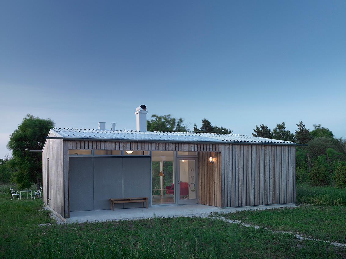 Sommarhus Mattarve - LLP Arkitektkontor © Robin Hayes Photography