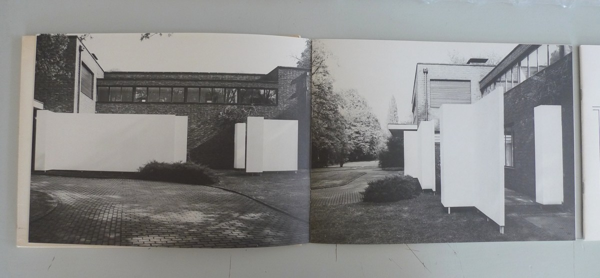 Installation at Mies van de Rohe's Haus Lange, 1982