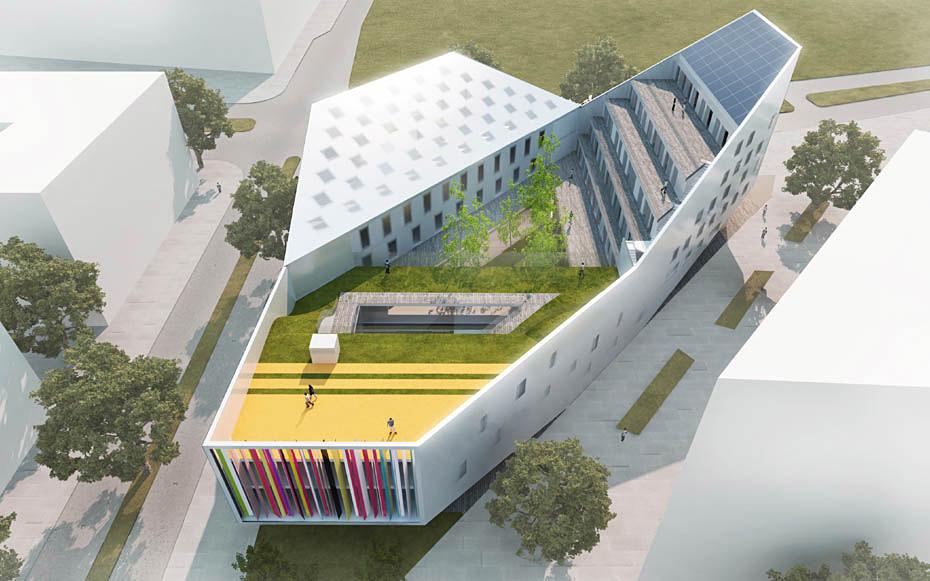 Exterior visualization (Image: JDS Architects)