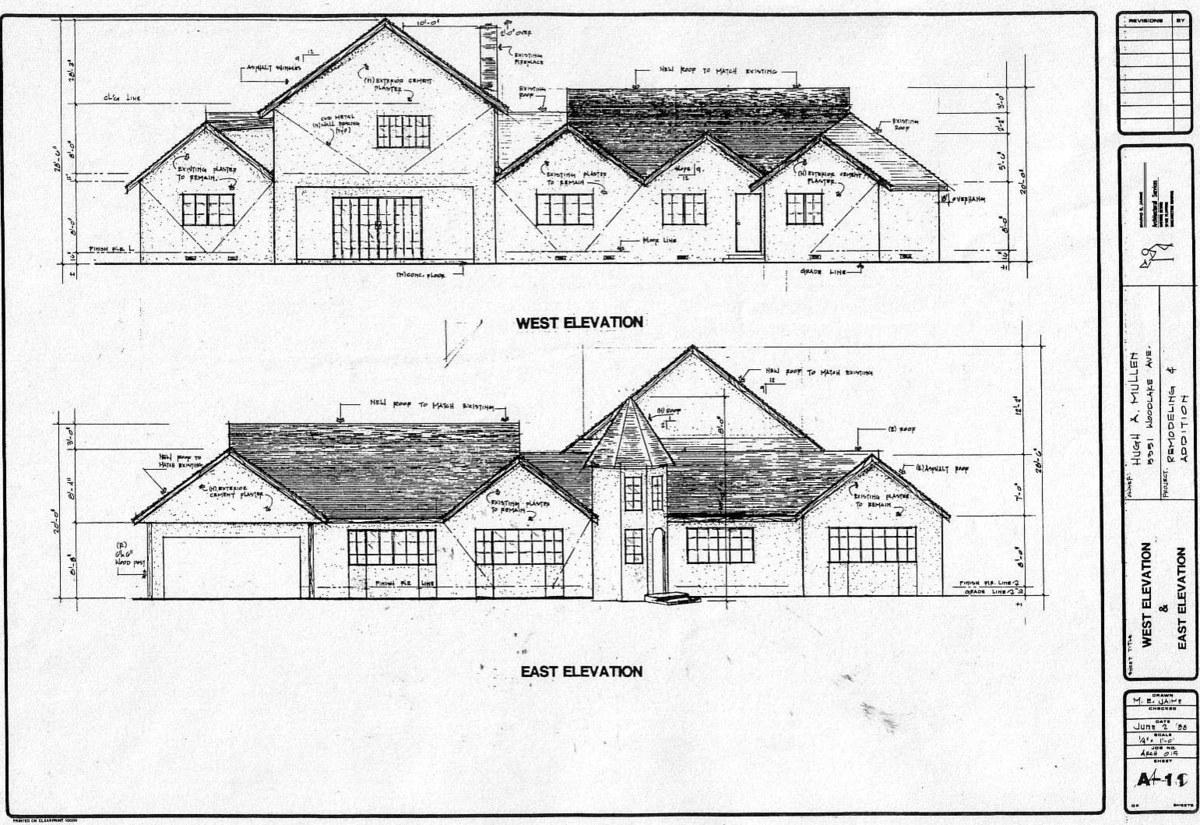 House remodeling, Woodland Hills, CA. Built