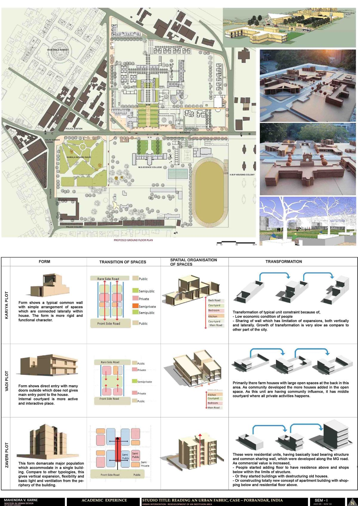 Academic experience-Porbandar City (India) 2/2