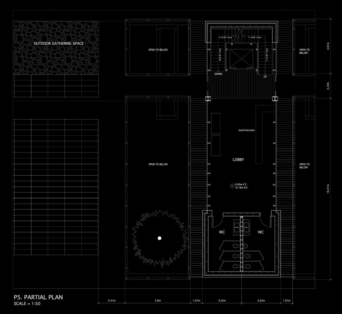 1:50 Ground Floor Plan