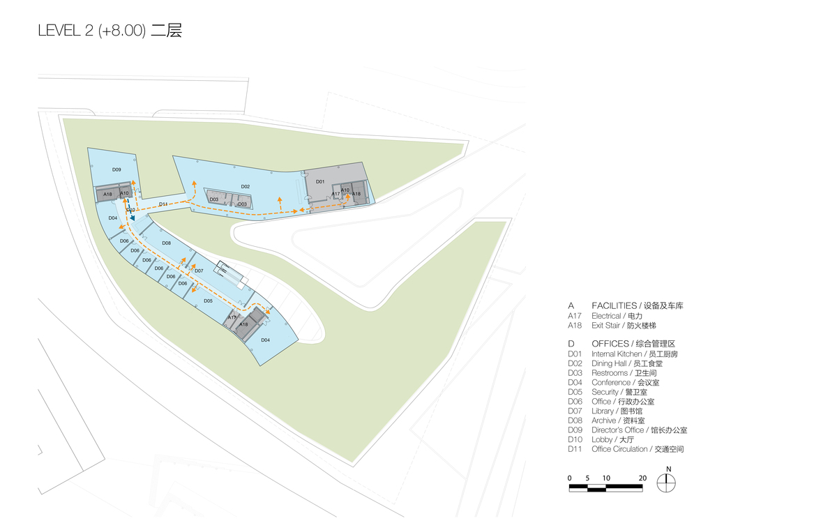 Plan at Level 3 (© Studio Link-Arc)