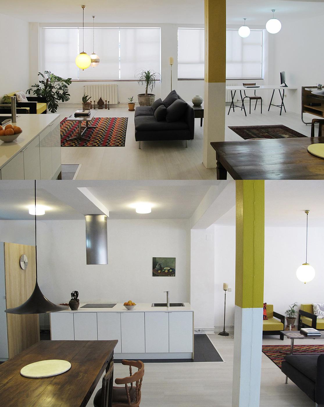 INTERIOR DESIGN FOR STUDIO – MADRID, SPAIN