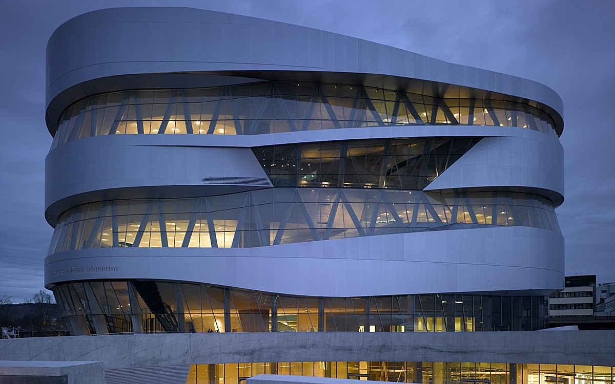 Mercedes benz museum matthew johnston archinect for Mercedes benz museum