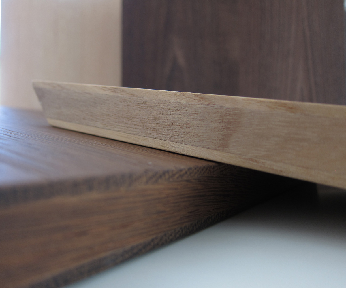 New thicker and stronger walnut door