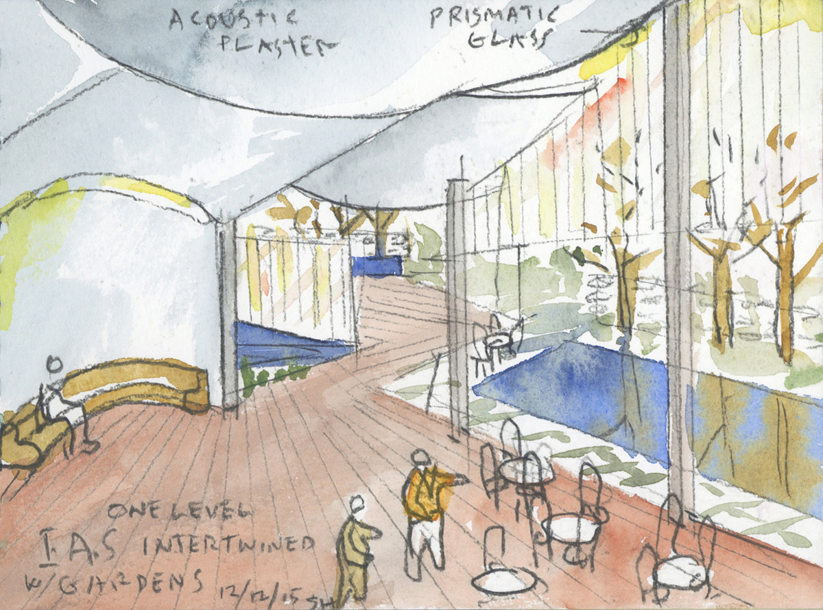 Steven Holl will design the new Rubenstein Commons at the Institute for Advanced Study