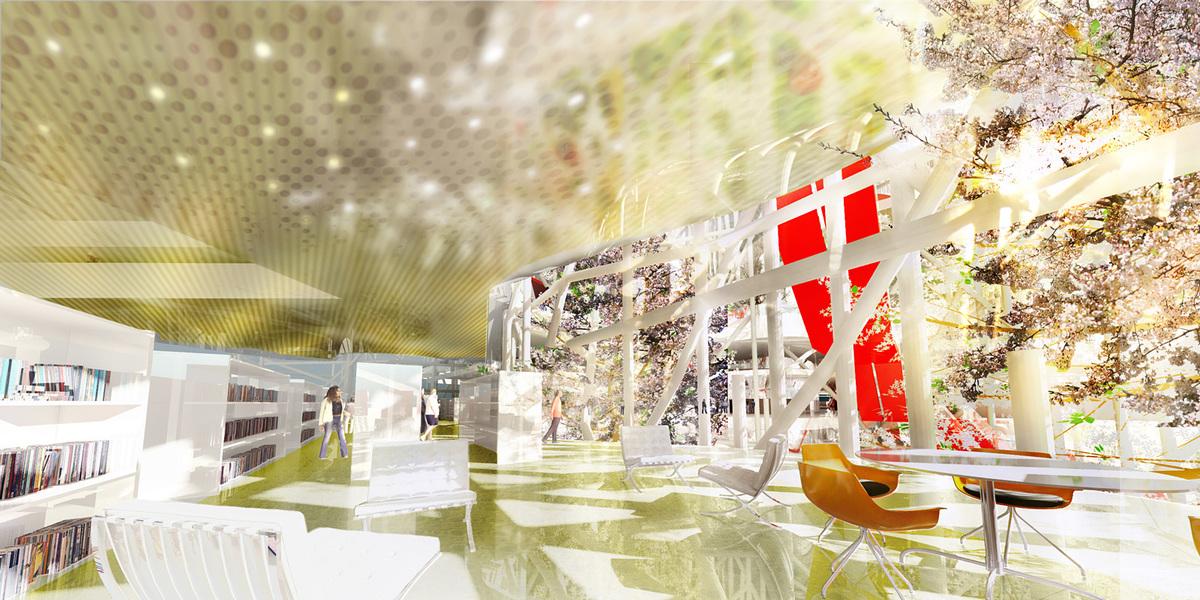 Rendering (Image courtesy of Oxo architects + Nicolas Laisné architecte urbaniste)