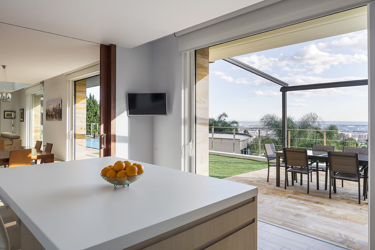 Kitchen and terrace - E House