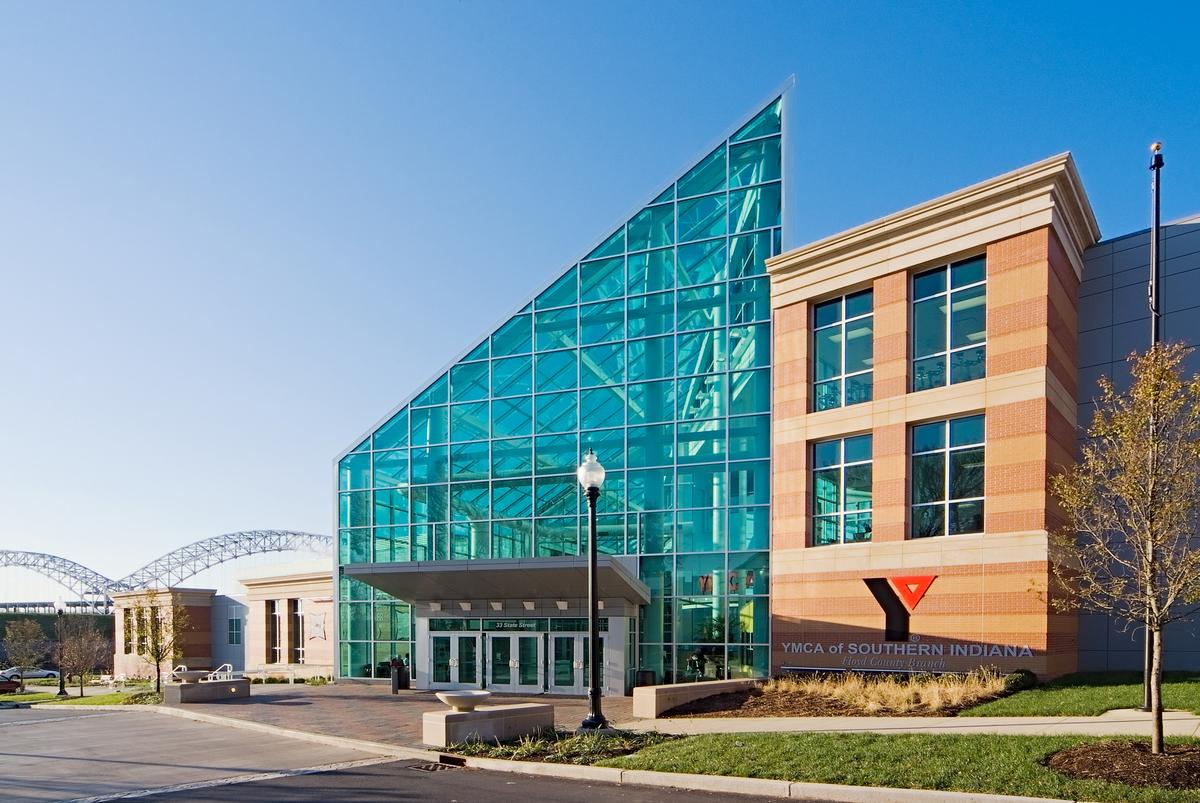 New Albany Ymca Teg Architects Archinect