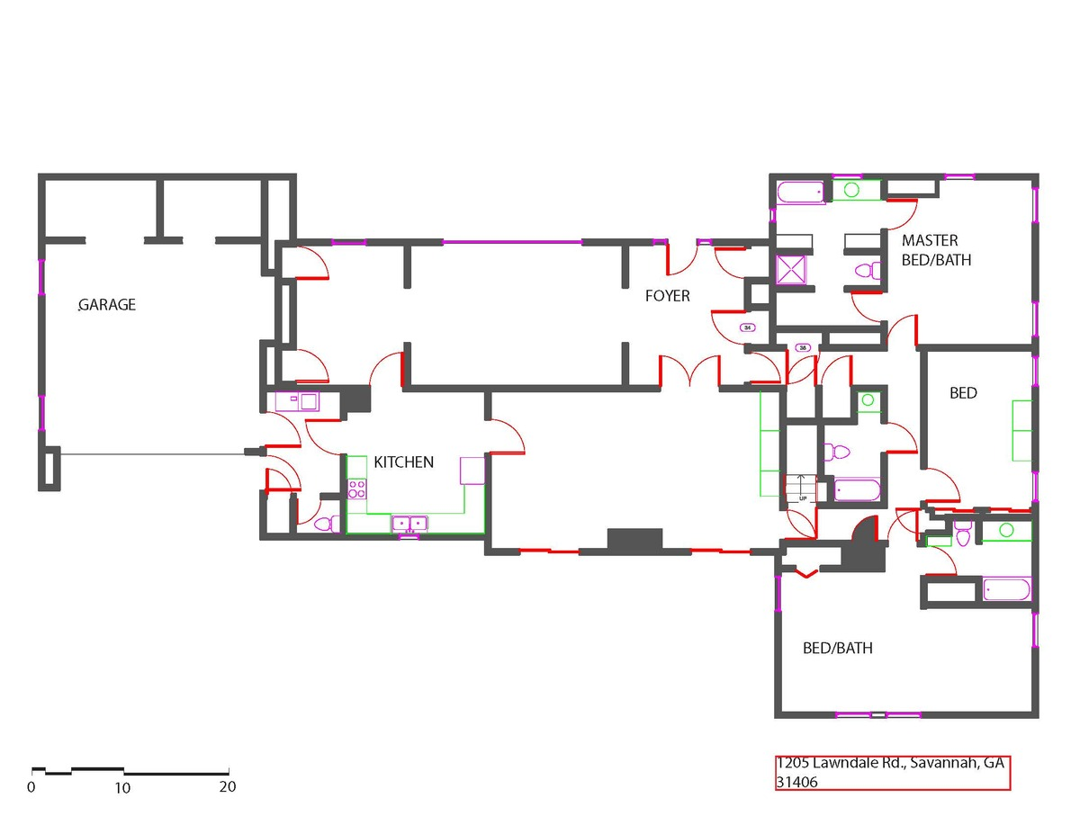 As built floor plan devannand persad archinect Program for floor plans