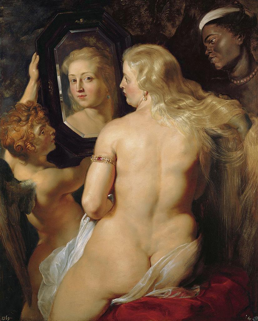 Figure 2. Venus Before a Mirror by Peter Paul Rubens. Image via Fresh Meat.