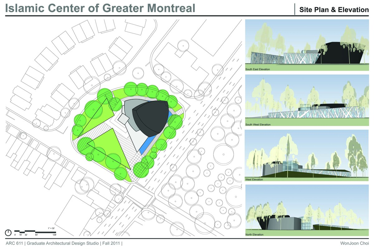 Islamic Center Of Greater Montreal Brian Wonjoon Choi