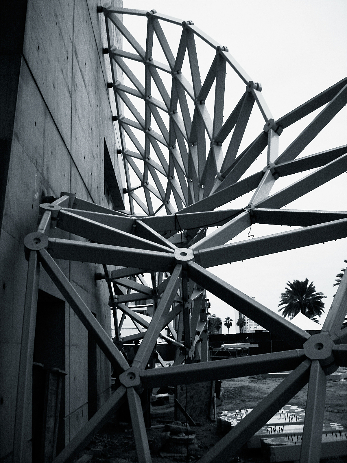 Novum structure under construction