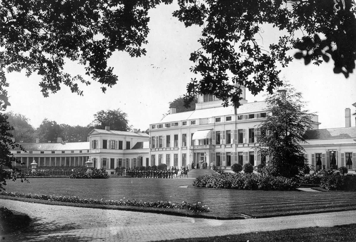 Palace Soestdijk, 1909.