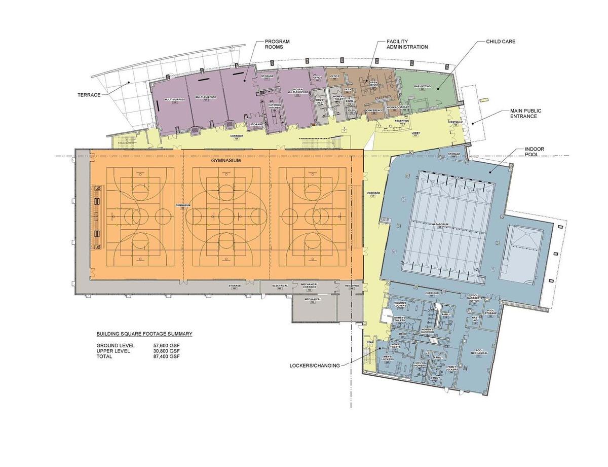 Schematic Main Floor Level