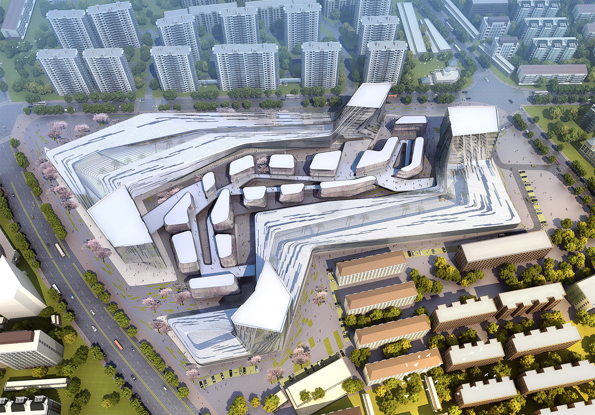 Aerial view, day (Image: SDA)