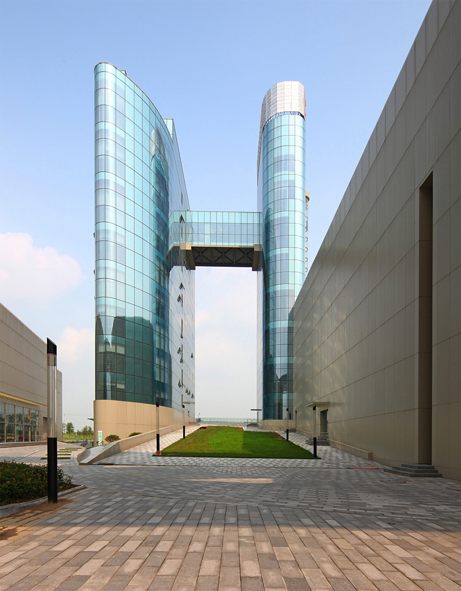Taizhou Medical City Convention Center in Taizhou, China by Futurepolis