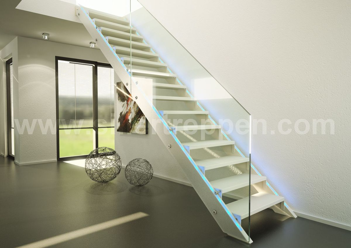 Glass stairs and all glass staircases | Benjamin Friedl ...