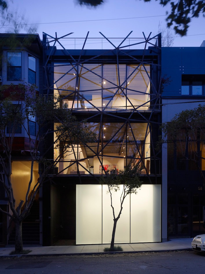 Ogrydziak Prillinger Architects, Gallery House, San Francisco, California (Photo: Tim Griffith)