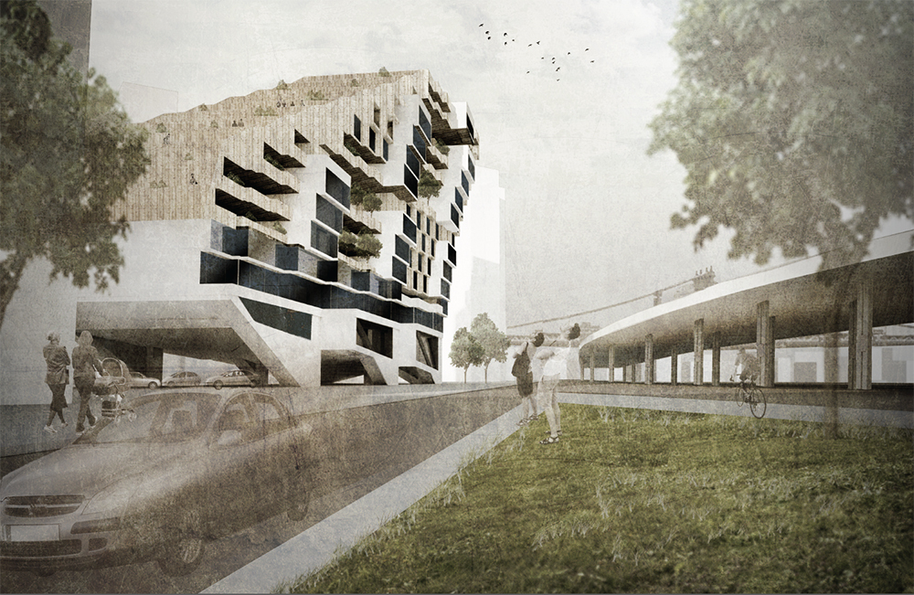 Block Party, Mariam Alshamali and Yuliya Savelyeva
