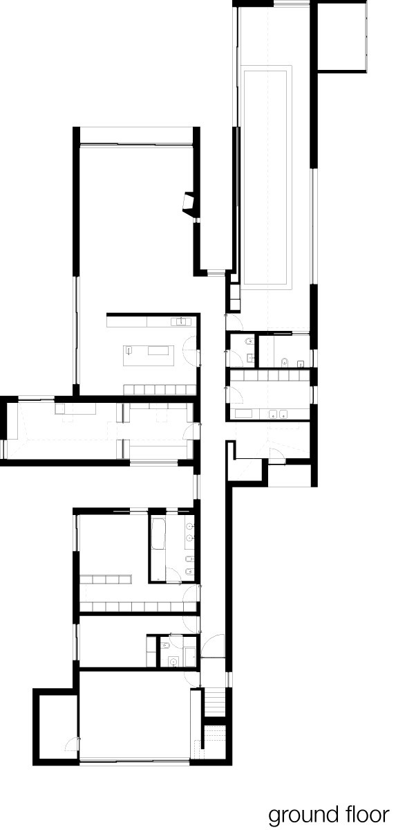 Ground Floor Plan (Image: Paula Santos)