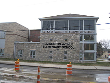 Exterior, Livingston Avenue Elementary School