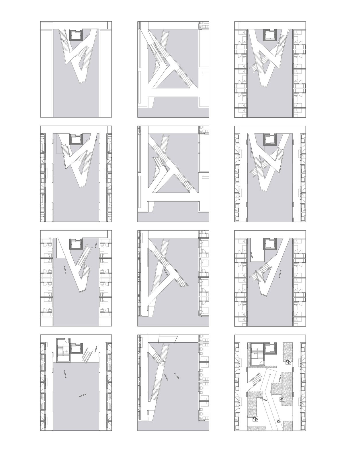 Courtyard Stair Plans