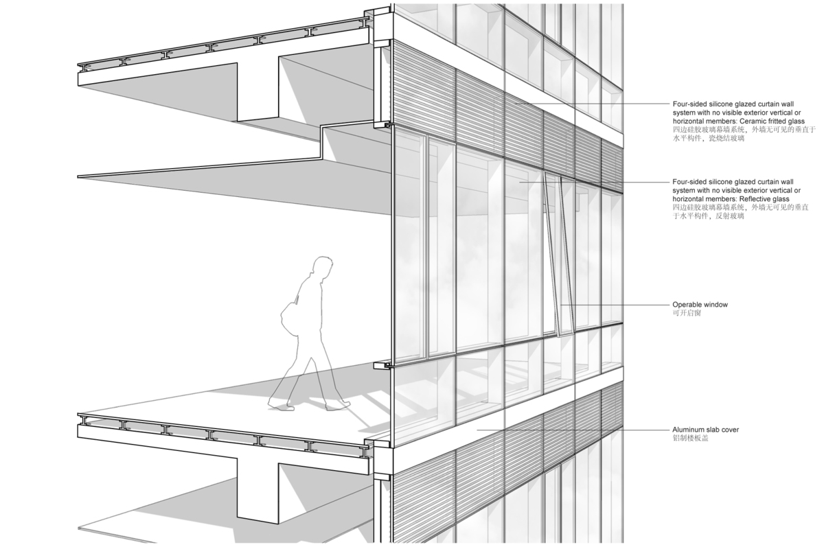 Office Tower Facade Study