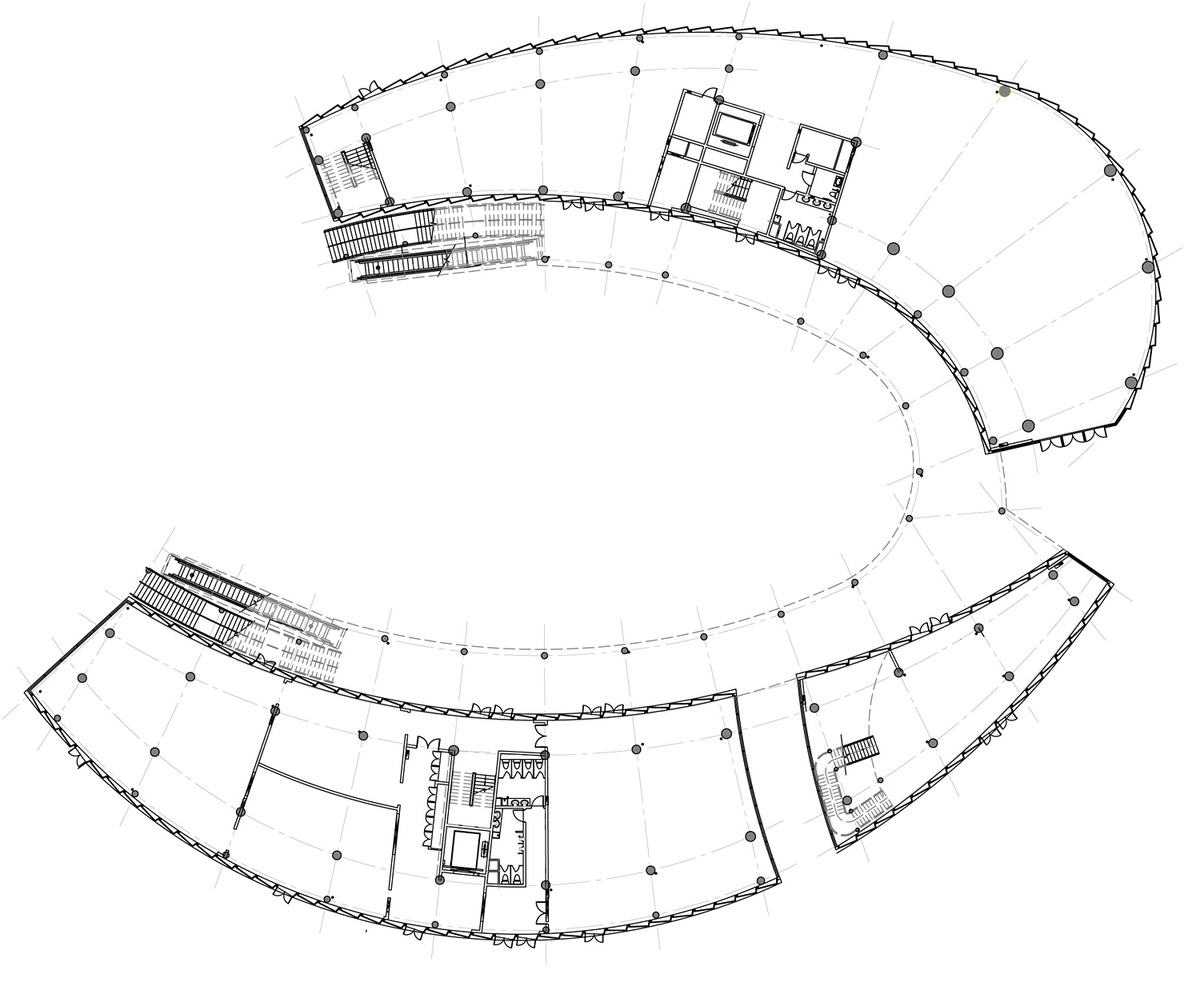 Floor plan: science pavilion. Image courtesy of Chris Y.H. Chan
